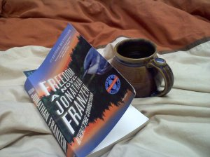 Book, coffee, love