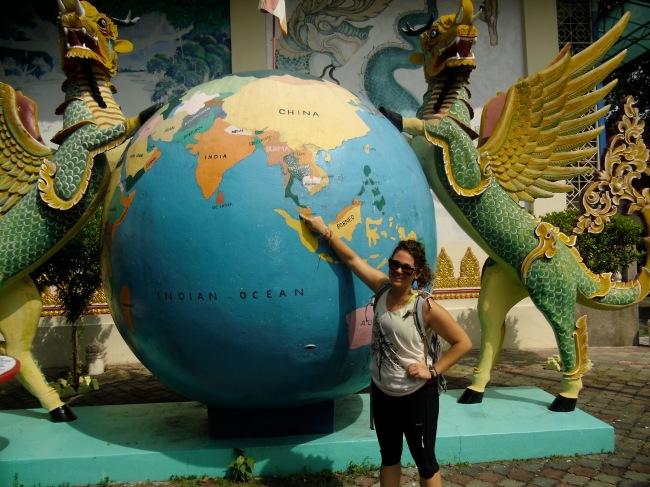 Penang Island, Malaysia--the World